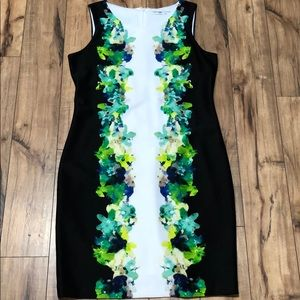 Calvin Klein floral dress